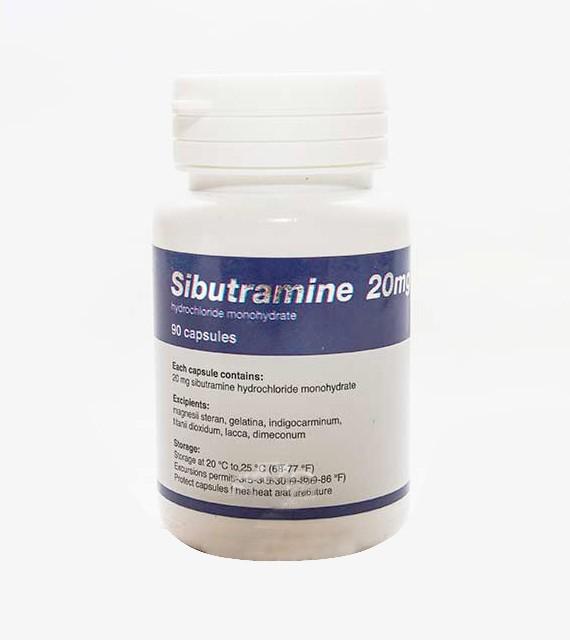 Sibutramine 20mg - Tabletky na chudnutie